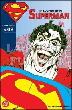 LE AVVENTURE DI SUPERMAN #     9
