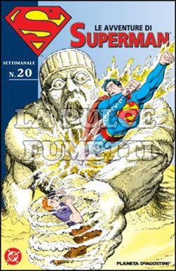 LE AVVENTURE DI SUPERMAN #    20