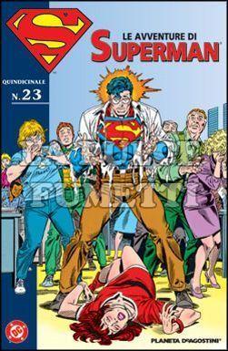 LE AVVENTURE DI SUPERMAN #    23