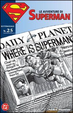 LE AVVENTURE DI SUPERMAN #    25