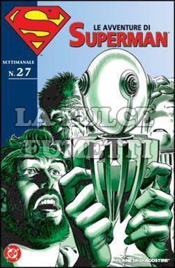 LE AVVENTURE DI SUPERMAN #    27