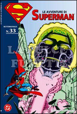 LE AVVENTURE DI SUPERMAN #    33