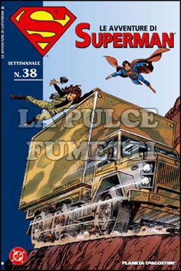 LE AVVENTURE DI SUPERMAN #    38