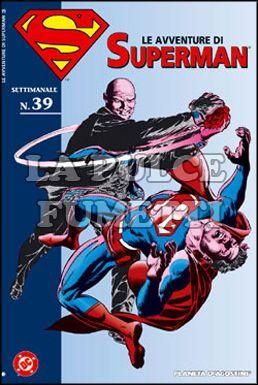 LE AVVENTURE DI SUPERMAN #    39
