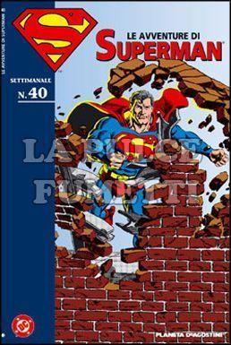 LE AVVENTURE DI SUPERMAN #    40