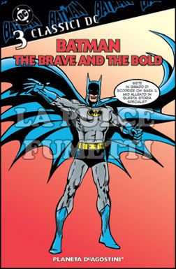 BATMAN: THE BRAVE AND THE BOLD - CLASSICI DC #     3