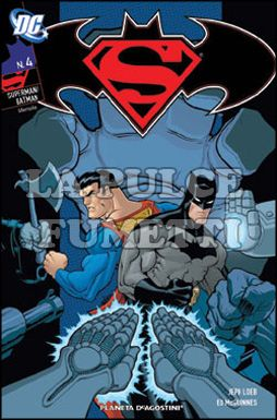 SUPERMAN / BATMAN #     4