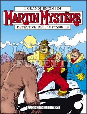 MARTIN MYSTERE #    87: L'UOMO DELLE NEVI
