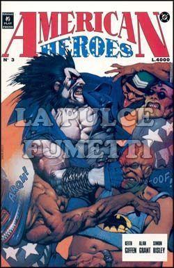 AMERICAN HEROES #     3