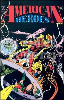 AMERICAN HEROES #     8