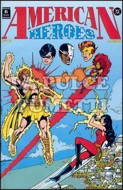 AMERICAN HEROES #    13