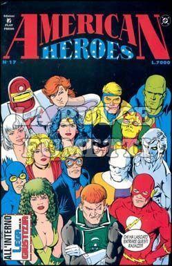 AMERICAN HEROES #    17