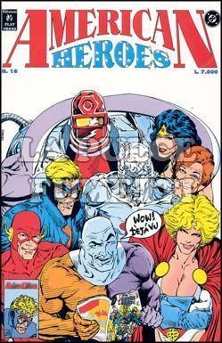 AMERICAN HEROES #    18
