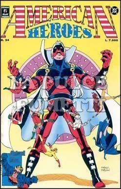 AMERICAN HEROES #    24
