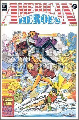 AMERICAN HEROES #    28