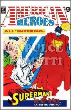 AMERICAN HEROES #    34 - EDICOLA