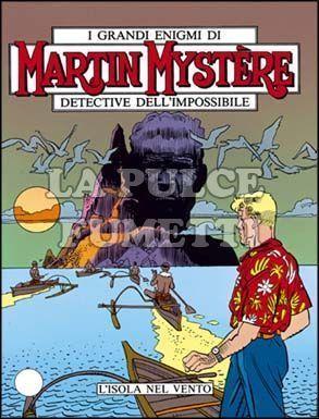 MARTIN MYSTERE #   110: L'ISOLA NEL VENTO