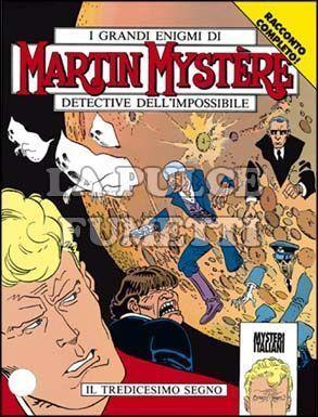 MARTIN MYSTERE #   142: IL TREDICESIMO SEGNO
