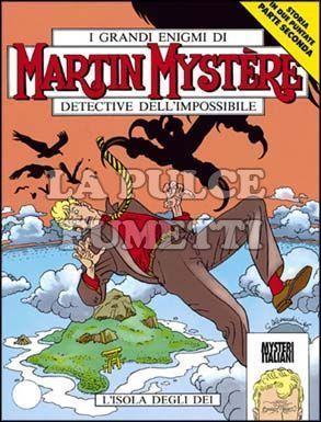 MARTIN MYSTERE #   159: L'ISOLA DEGLI DEI + ALLEGATO