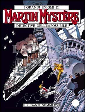 MARTIN MYSTERE #   178: IL GIGANTE SOMMERSO