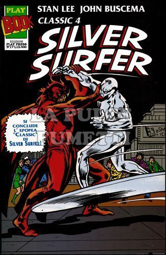 PLAY BOOK #    17 - SILVER SURFER CLASSIC 4