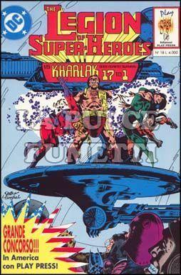 PLAY SAGA #    18 - THE LEGION OF SUPER HEROES 1 (DI 5)