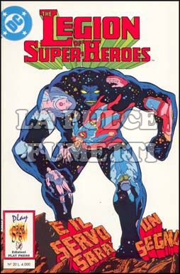 PLAY SAGA #    20 - THE LEGION OF SUPER HEROES 3 (DI 5)