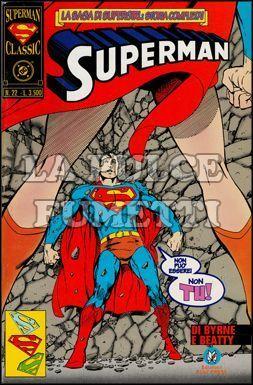 SUPERMAN CLASSIC #    22