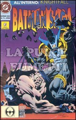 BATMAN SAGA #     7 - KNIGHTFALL
