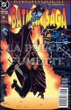BATMAN SAGA #    17 - KNIGHTQUEST LA CROCIATA