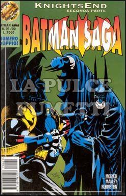 BATMAN SAGA #    21 / 22 - KNIGHTSEND PARTE 2