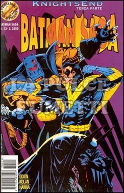BATMAN SAGA #    23 - KNIGHTSEND PARTE 3
