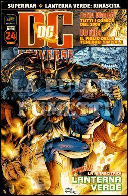 DC UNIVERSE #    24