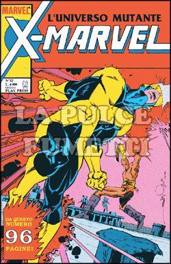 X-MARVEL #    13