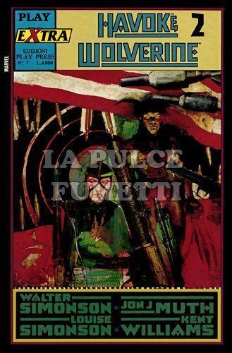 PLAY EXTRA #     7 - HAVOK & WOLVERINE  2 (DI 4)