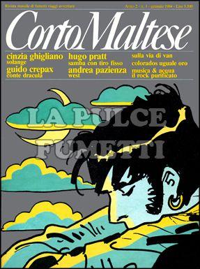 CORTO MALTESE ANNO  2 #     1