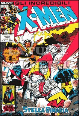 INCREDIBILI X-MEN #     1: STELLA BINARIA