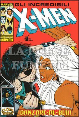 INCREDIBILI X-MEN #     4: DANZARE AL BUIO