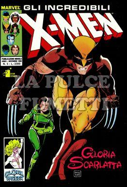 INCREDIBILI X-MEN #     5: GLORIA SCARLATTA