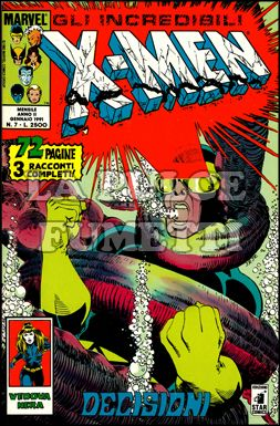 INCREDIBILI X-MEN #     7: DECISIONI