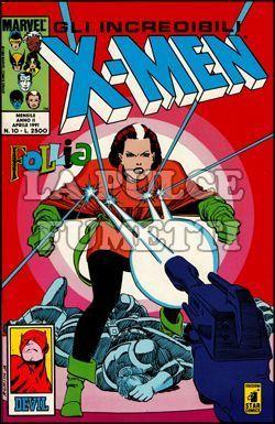 INCREDIBILI X-MEN #    10: FOLLIA