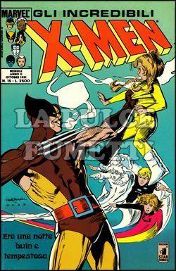 INCREDIBILI X-MEN #    15: ERA UNA NOTTE BUIA E TEMPESTOSA