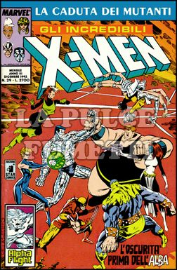 INCREDIBILI X-MEN #    29: L'OSCURITA' PRIMA DELL'ALBA - LA CADUTA DEI MUTANTI