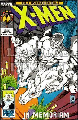 INCREDIBILI X-MEN #    31: IN MEMORIAM