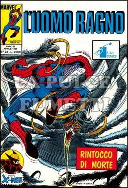 UOMO RAGNO #    23: RINTOCCO DI MORTE