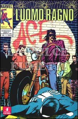 UOMO RAGNO #    64: ACE