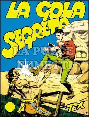 TEX GIGANTE #    14: LA GOLA SEGRETA