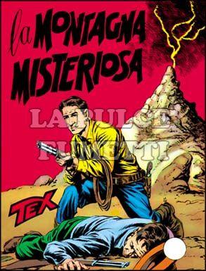 TEX GIGANTE #    15: LA MONTAGNA MISTERIOSA