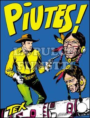 TEX GIGANTE #    23: PIUTES!
