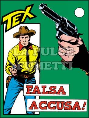 TEX GIGANTE #    37: FALSA ACCUSA